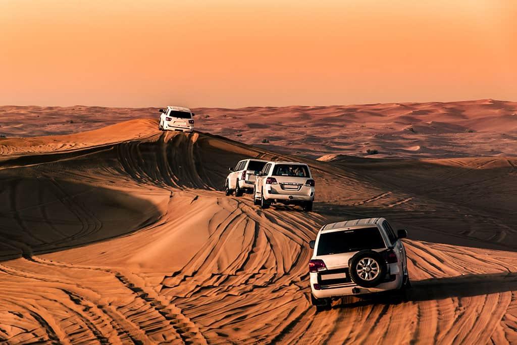 ספארי במדבר דובאי